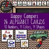Alphabet Cards - Happy Campers Decor