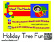 Alphabet Cards-Holiday Tree Fun