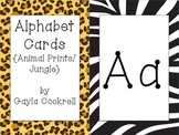 Alphabet Cards: Jungle/Safari/Animal Prints