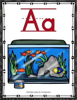 Alphabet Cards - Life with Pets Decor