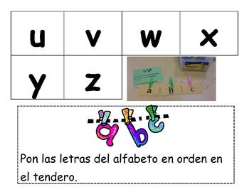 Alphabet Cards Spanish