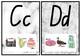 Alphabet Posters Marble Theme