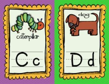 Alphabet Cards (Mini-dots)