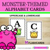 Freaky Friday: Monster-Theme  Alphabet Cards