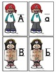 Alphabet Cards: Pirates {Uppercase, Lowercase, Lined, & Unlined}