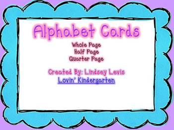 Alphabet Cards {Polka-Dot}
