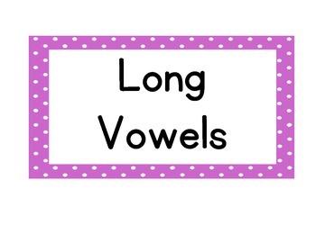 Alphabet Cards Polka Dot  Labels