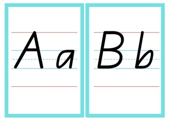Alphabet Cards - QLD Beginners