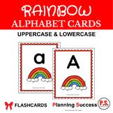 Alphabet Cards: Rainbow
