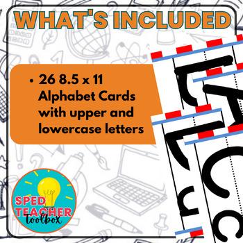 Alphabet Cards-Seuss Inspired