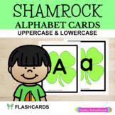 Alphabet Cards: Shamrock Alphabet Cards