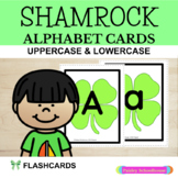 Alphabet Cards: Shamrock Alphabet Cards