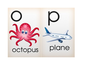 Alphabet Cards - Single Letter Phonograms
