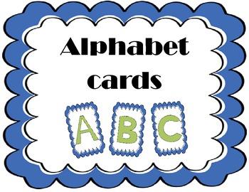 Alphabet Cards {Small}
