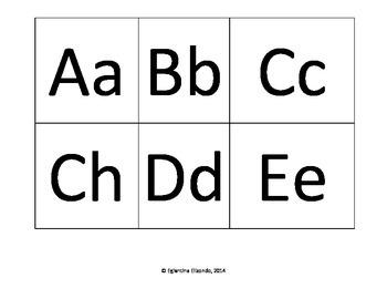 Alphabet Cards (Spanish)