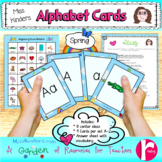 Alphabet Cards Spring Theme