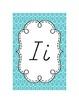 Alphabet Cards {Swirls & D'Nealian} Brights!