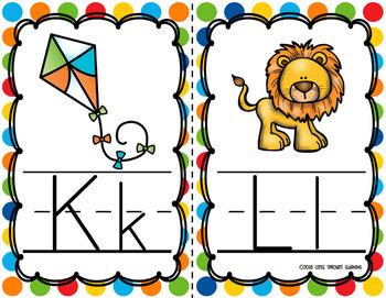 Alphabet Cards - Two sizes includes Alphabet Chart