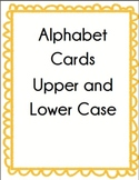Alphabet Cards Upper Case and Lower Case Set