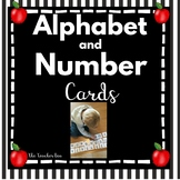 Alphabet Cards  Uppercase & Lowercase -  Number  1-100