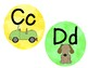 Alphabet Cards: Watercolors