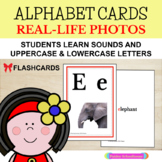 Alphabet Cards: Upper and Lowercase With Real-Life Photos