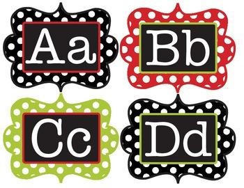 Alphabet Cards/ Word Wall