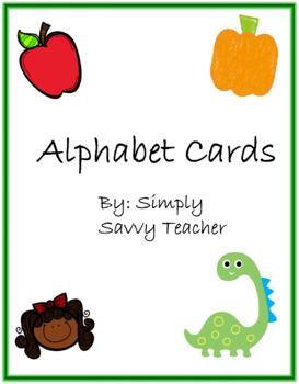 Alphabet Cards & Word Wall Headings