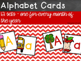 Alphabet Cards - Year Long BUNDLE