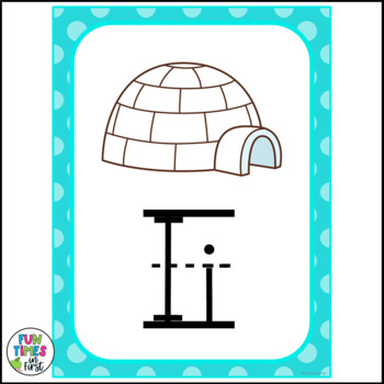 Alphabet Cards (Zaner-Bloser) Bright Polka Dot Theme