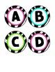 Alphabet Cards - Zebra Print