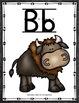 Alphabet Cards - Zoo Animals Decor