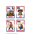 Alphabet Cards about the United States of America