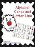 Alphabet Cards and Alphabet Line Up