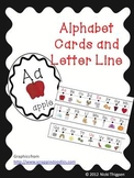 Alphabet Cards and Alphabet Line Up