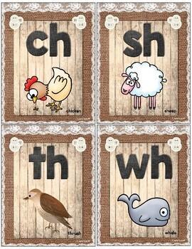 Burlap Alphabet Cards and More Shabby Chic ~ Farmhouse Styler