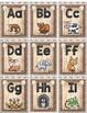 Burlap Alphabet Cards and More Shabby Chic ~ Farmhouse Style
