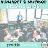 Alphabet Cards and Number Cards 1-20