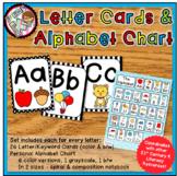 Alphabet Cards and Personal Alphabet Chart