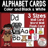 Alphabet ABC and Word Wall Letter Cards