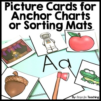 Picture Cards for Anchor Charts or Sorting Mats