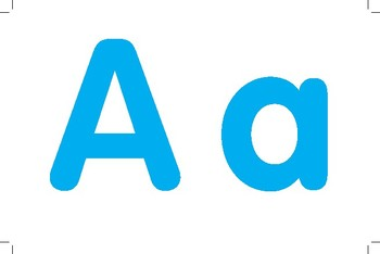 Alphabet Cards for Brain on the Go