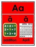 Alphabet Cards for Math