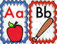 Word Wall Alphabet Cards for Classroom Use