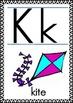 Alphabet Cards for Write to Read Program