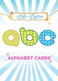 Alphabet Cards, in Postcard size