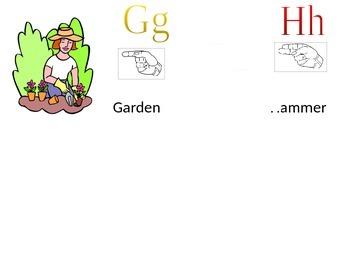 Alphabet Cards with ASL