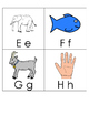 Alphabet Cards with Initial Sound Pictures