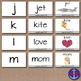 Alphabet Cards with Letter, Word & Clip Art- Multisensory