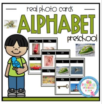Alphabet Cards with Real Photos